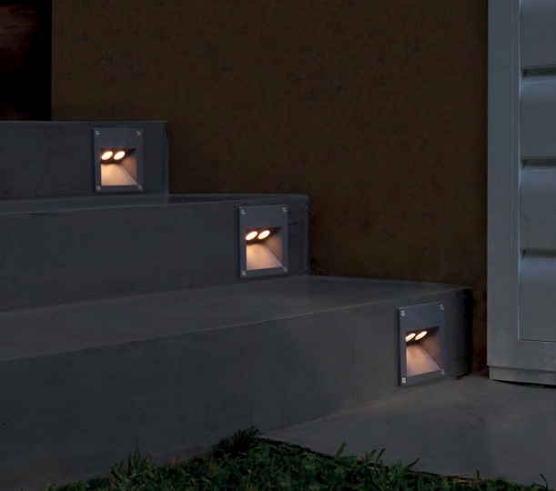 Iluminaci n de exteriores forum blog - Iluminacion escaleras ...