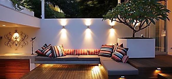 Iluminaci n de exteriores forum blog - Iluminacion de jardines modernos ...
